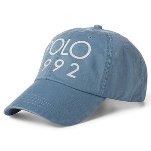 New Mens POLO Ralph Lauren POLO 1992 Blue Hat Cap